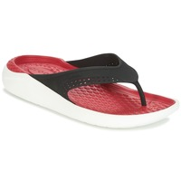 Topánky Žabky Crocs LITERIDE FLIP Čierna / Červená