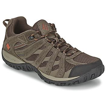 Topánky Muži Turistická obuv Columbia REDMOND Hnedá