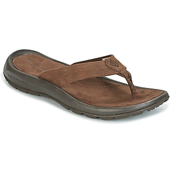 Topánky Muži Žabky Columbia MANAROLA II Hnedá