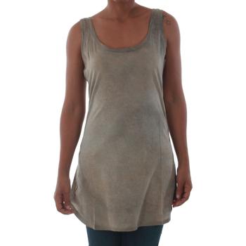 Oblečenie Ženy Tielka a tričká bez rukávov Fornarina BILSTON_GOLD Marrón