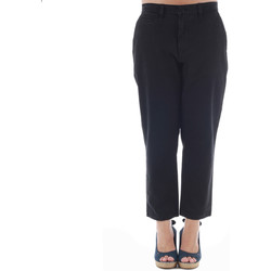 Oblečenie Ženy Nohavice Chinos a Carrot Gas GAS01164 Negro