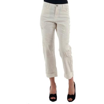 Oblečenie Ženy Nohavice Chinos a Carrot Miss Sixty MIS01030 Blanco roto