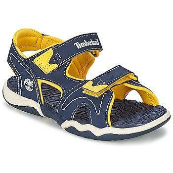 Topánky Deti Sandále Timberland ADVENTURE SEEKER 2-STRAP SANDAL Modrá