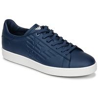 Topánky Muži Nízke tenisky Emporio Armani EA7 CLASSIC U Modrá