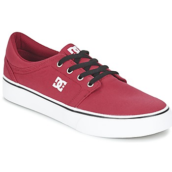 Topánky Muži Nízke tenisky DC Shoes TRASE TX MEN Červená / Čierna