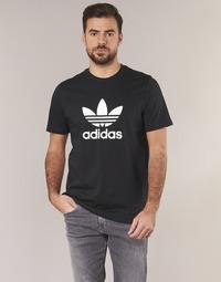 Oblečenie Muži Tričká s krátkym rukávom adidas Originals TREFOIL T SHIRT Čierna