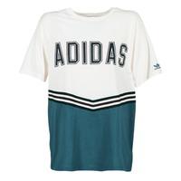 Oblečenie Ženy Tričká s krátkym rukávom adidas Originals ADIBREAK SS TEE Biela / Námornícka modrá