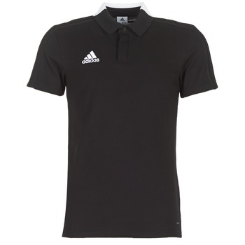 Oblečenie Muži Polokošele s krátkym rukávom adidas Performance CON18 CO POLO Čierna