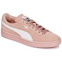 Topánky Ženy Nízke tenisky Puma SUEDE CLASSIC W'S Ružová / Biela