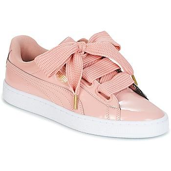 Topánky Ženy Nízke tenisky Puma BASKET HEART PATENT W'S Ružová