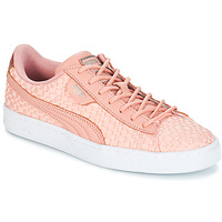 Topánky Ženy Nízke tenisky Puma BASKET SATIN EP WN'S Ružová