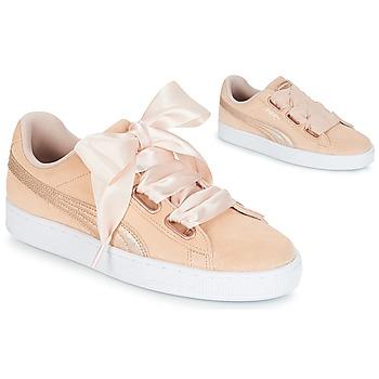 Topánky Ženy Nízke tenisky Puma SUEDE HEART LUNALUX W'S Ružová