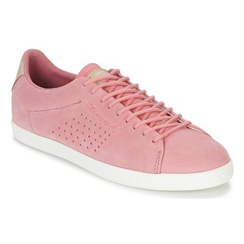 Topánky Ženy Nízke tenisky Le Coq Sportif CHARLINE SUEDE Ružová