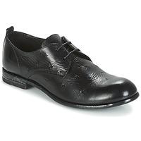 Topánky Ženy Derbie Moma CROSS-NERO Čierna