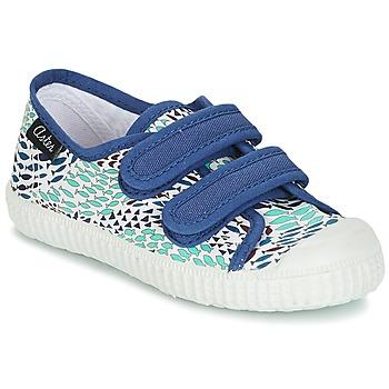 Topánky Chlapci Nízke tenisky Aster MICKY Biela / Modrá