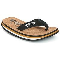 Topánky Muži Žabky Cool shoe ORIGINAL Čierna / Ťavia hnedá