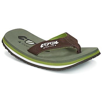 Topánky Muži Žabky Cool shoe ORIGINAL Kaki / Hnedá