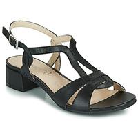 Topánky Ženy Sandále Caprice SATIBO Čierna
