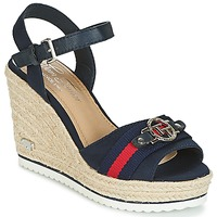 Topánky Ženy Sandále Tom Tailor CRYSTYA Námornícka modrá