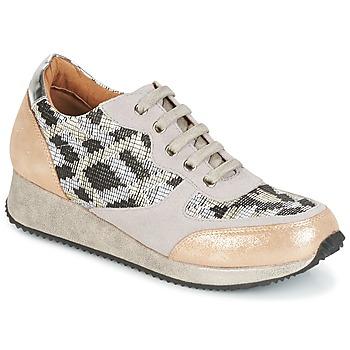 Topánky Ženy Nízke tenisky Karston SEMIR Béžová / Zlatá