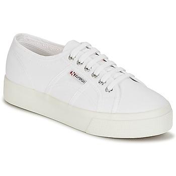 Topánky Ženy Nízke tenisky Superga 2730 COTU Biela