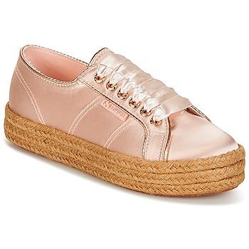 Topánky Ženy Nízke tenisky Superga 2730 SATIN COTMETROPE W Ružová