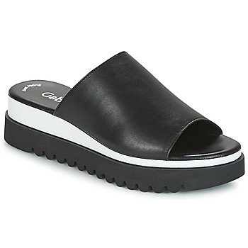 Topánky Ženy Šľapky Gabor SORIEUX Čierna / Biela