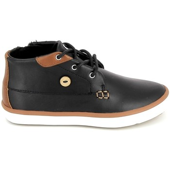Topánky Deti Členkové tenisky Faguo Wattle Leather BB Noir Čierna