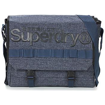 Tašky Kabelky a tašky cez rameno Superdry MERCHANT MESSENGER BAG Námornícka modrá