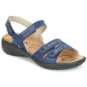 Topánky Ženy Sandále Romika IBIZA 86 Modrá