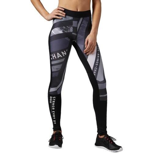 Oblečenie Ženy Legíny Reebok Sport One Series Tight Biela,Čierna,Sivá