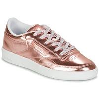 Topánky Ženy Nízke tenisky Reebok Classic CLUB C 85 S SHINE Ružová / Metalická
