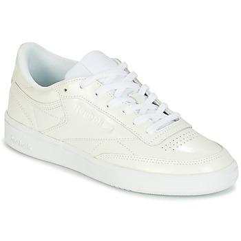 Topánky Ženy Nízke tenisky Reebok Classic CLUB C 85 PATENT Biela