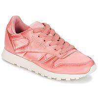 Topánky Ženy Nízke tenisky Reebok Classic CLASSIC LEATHER SATIN Ružová