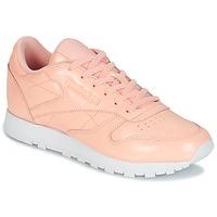 Topánky Ženy Nízke tenisky Reebok Classic CLASSIC LEATHER PATENT Ružová
