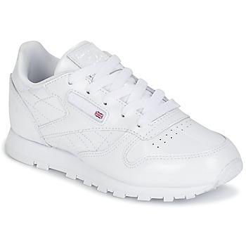 Topánky Dievčatá Nízke tenisky Reebok Classic CLASSIC LEATHER PATENT Biela