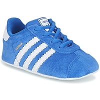 Topánky Deti Nízke tenisky adidas Originals GAZELLE CRIB Modrá