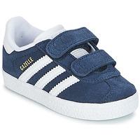 Topánky Chlapci Nízke tenisky adidas Originals GAZELLE CF I Námornícka modrá