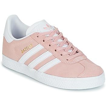 Topánky Dievčatá Nízke tenisky adidas Originals GAZELLE C Ružová