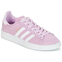 Topánky Dievčatá Nízke tenisky adidas Originals CAMPUS J Ružová