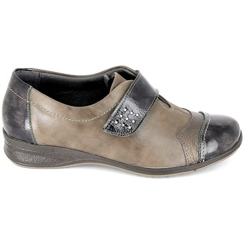 Topánky Ženy Derbie Boissy Derby 7510 Noir Hnedá
