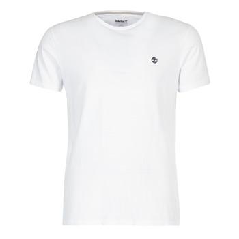 Oblečenie Muži Tričká s krátkym rukávom Timberland SS DUNSTAN RIVER CREW TEE Biela