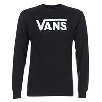 Oblečenie Muži Tričká s dlhým rukávom Vans VANS CLASSIC Čierna