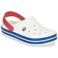 Topánky Nazuvky Crocs CROCBAND Biela / Modrá / Červená