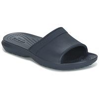 Topánky Deti športové šľapky Crocs CLASSIC SLIDE K Námornícka modrá