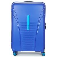 Tašky Pevné cestovné kufre American Tourister SKYTRACER 77CM 4R Modrá