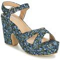 Topánky Ženy Sandále Moony Mood INADA Modrá