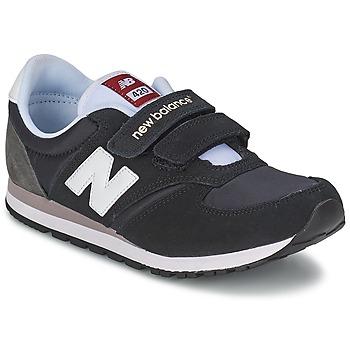 Topánky Deti Nízke tenisky New Balance KE420 Čierna / Šedá