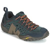 Topánky Muži Turistická obuv Merrell INTERCEPT Modrá