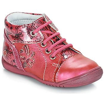 Topánky Dievčatá Polokozačky GBB ROSEMARIE Ružová